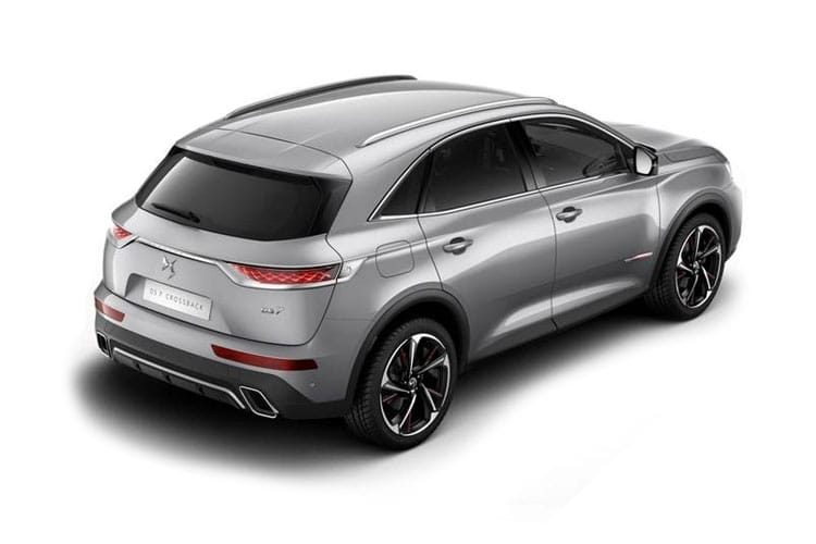 DS Automobiles DS 7 Crossback SUV 5Dr 1.5 BlueHDi 130PS Performance Line 5Dr EAT8 [Start Stop] back view