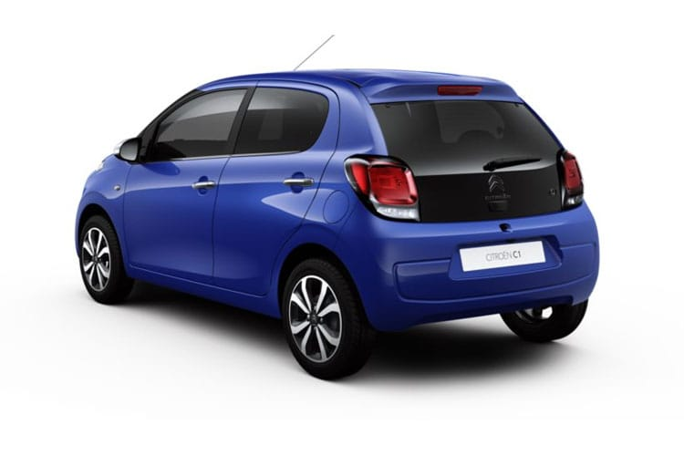 Citroen C1 Hatch 5Dr 1.0 VTi 72PS Shine 5Dr Manual [Start Stop] back view