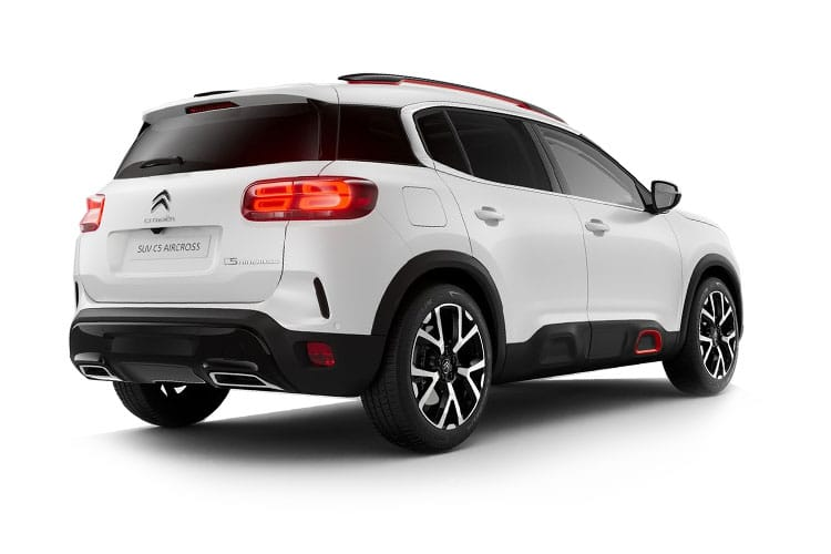Citroen C5 Aircross SUV 1.2 PureTech 130PS Shine 5Dr EAT8 [Start Stop] back view