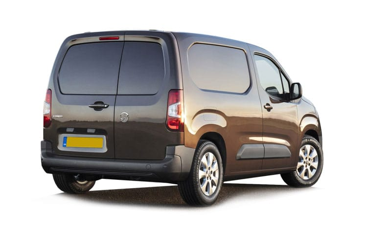 Vauxhall Combo Cargo L1 2300 1.5 Turbo D FWD 130PS Edition Van Auto [Start Stop] back view