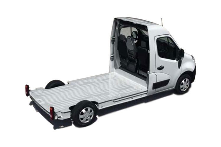 Vauxhall Movano F35 L3 2.3 CDTi BiTurbo FWD 150PS  Platform Cab Medium Roof Manual [Start Stop] back view