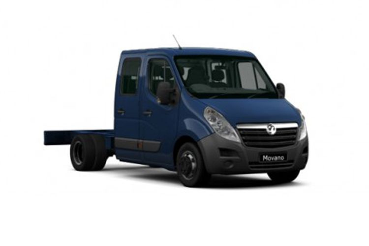 Vauxhall Movano F35 L2 2.3 CDTi BiTurbo FWD 135PS  Chassis Double Cab Manual front view