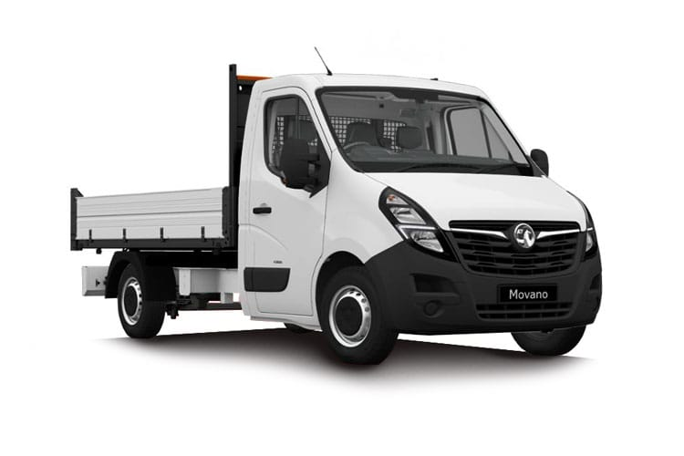 Vauxhall Movano R35DRW L2 2.3 CDTi BiTurbo DRW 145PS  Tipper Manual [Start Stop] front view