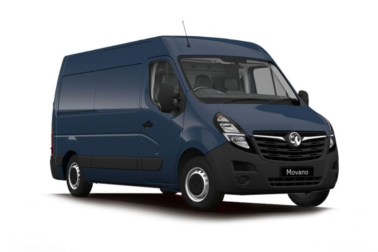 Vauxhall Movano R35 L3 2.3 CDTi BiTurbo RWD 130PS Edition Van Medium Roof Manual front view