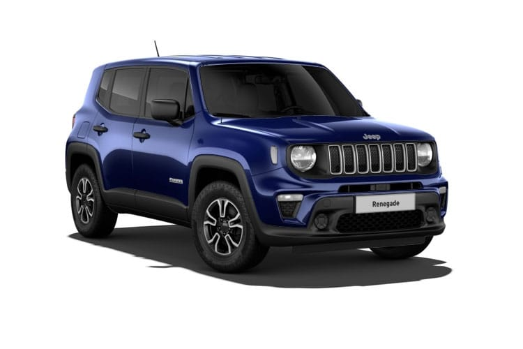 Jeep Renegade SUV 1.3 GSE T4 150PS Limited 5Dr DDCT [Start Stop] front view