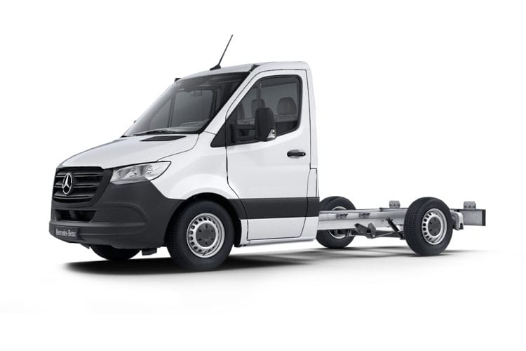 Mercedes-Benz Sprinter 314 L3 3.5t 2.1 CDi RWD 143PS Progressive Chassis Cab Manual [Start Stop] front view