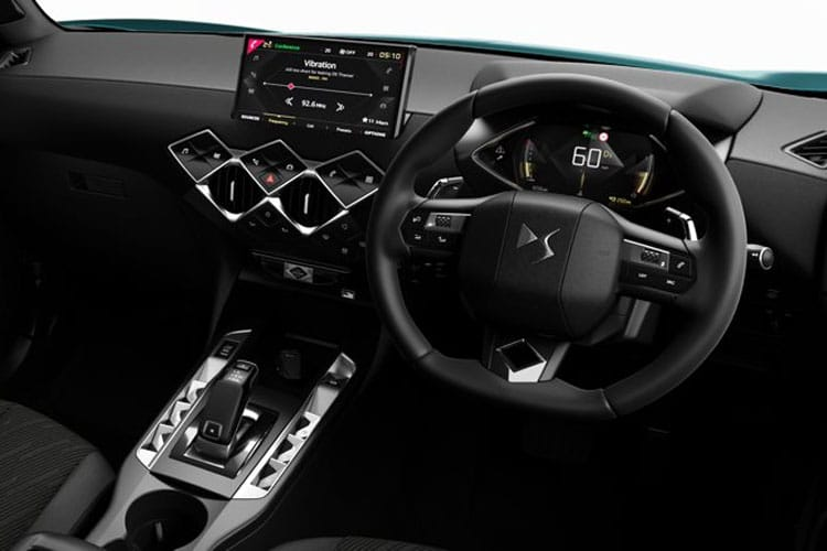 DS Automobiles DS 3 Crossback 5Dr 1.5 BlueHDi 110PS Elegance 5Dr Manual [Start Stop] inside view