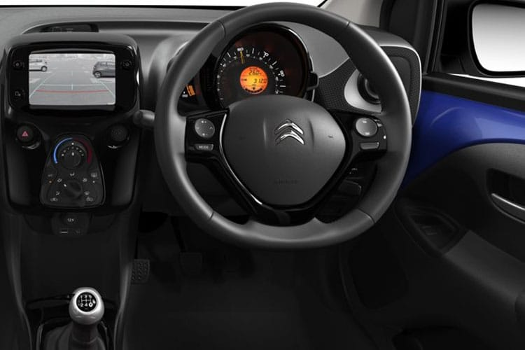 Citroen C1 Hatch 5Dr 1.0 VTi 72PS Shine 5Dr Manual [Start Stop] inside view