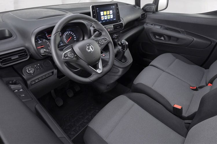 Vauxhall Combo Cargo L1 2300 1.5 Turbo D FWD 130PS Edition Van Auto [Start Stop] inside view