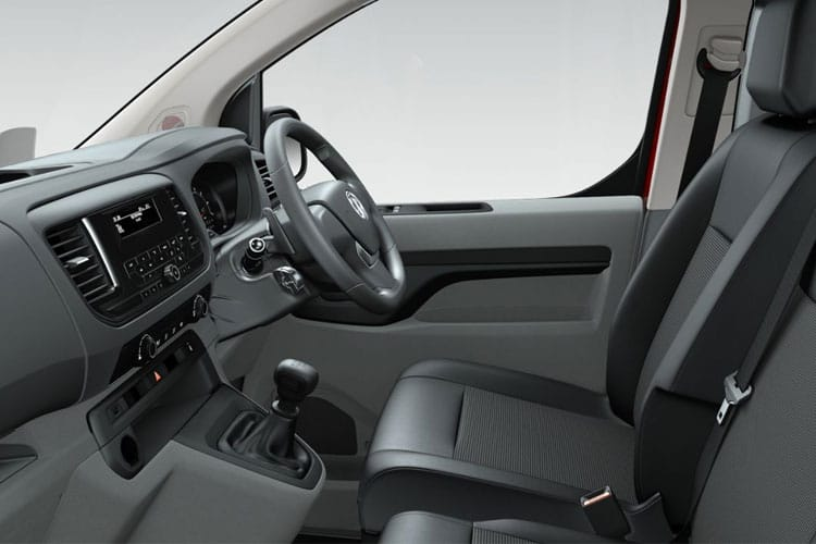 Vauxhall Vivaro L2 3100 2.0 Turbo D FWD 120PS Sportive Crew Van Manual [Start Stop] inside view
