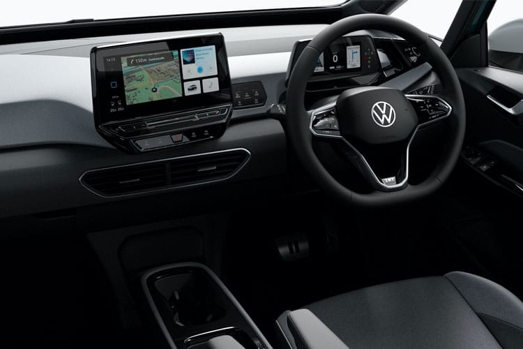 Volkswagen ID.3 Hatch 5Dr Elec Pro Perf 58kWh 150KW 204PS Life 5Dr Auto inside view