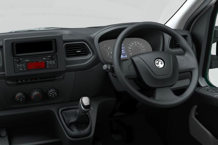 Vauxhall Movano R35 L2 2.3 CDTi BiTurbo RWD 145PS  Dropside Manual [Start Stop] inside view