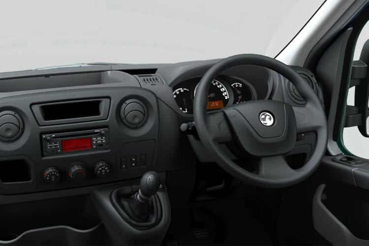 Vauxhall Movano HGV R45DRW L4 2.3 CDTi BiTurbo DRW 165PS  Dropside Double Cab Manual [Start Stop] inside view