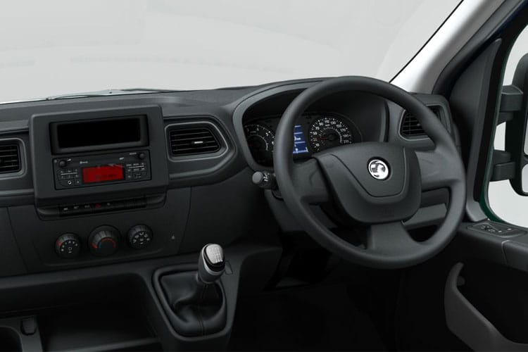 Vauxhall Movano R35 L3 2.3 CDTi BiTurbo RWD 130PS Edition Van Medium Roof Manual inside view