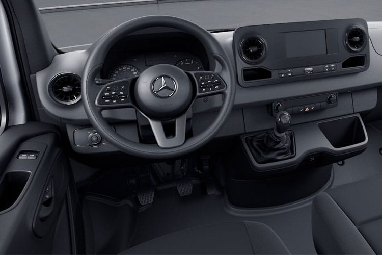 Mercedes-Benz Sprinter 314 L3 3.5t 2.1 CDi RWD 143PS Progressive Chassis Cab Manual [Start Stop] inside view