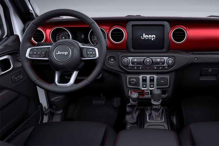 Jeep Wrangler SUV 2Dr 2.2 MultiJetII 200PS Overland 2Dr Auto [Start Stop] inside view